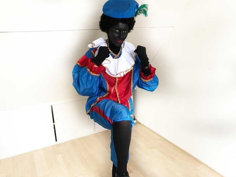 Snelle Zwarte Pieten conditie workout! - knee ups