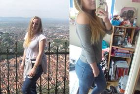 """Transformation Tuesday – Fitgirl Zwaniek: """"Dankzij de Followfitgirl challenges hoort sporten nu bij mijn vaste routine"""""""
