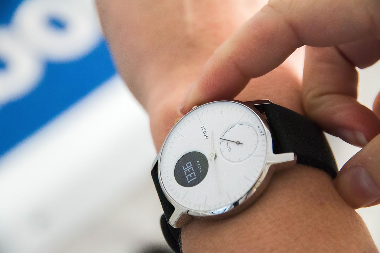 Nokia horloge weegschaal