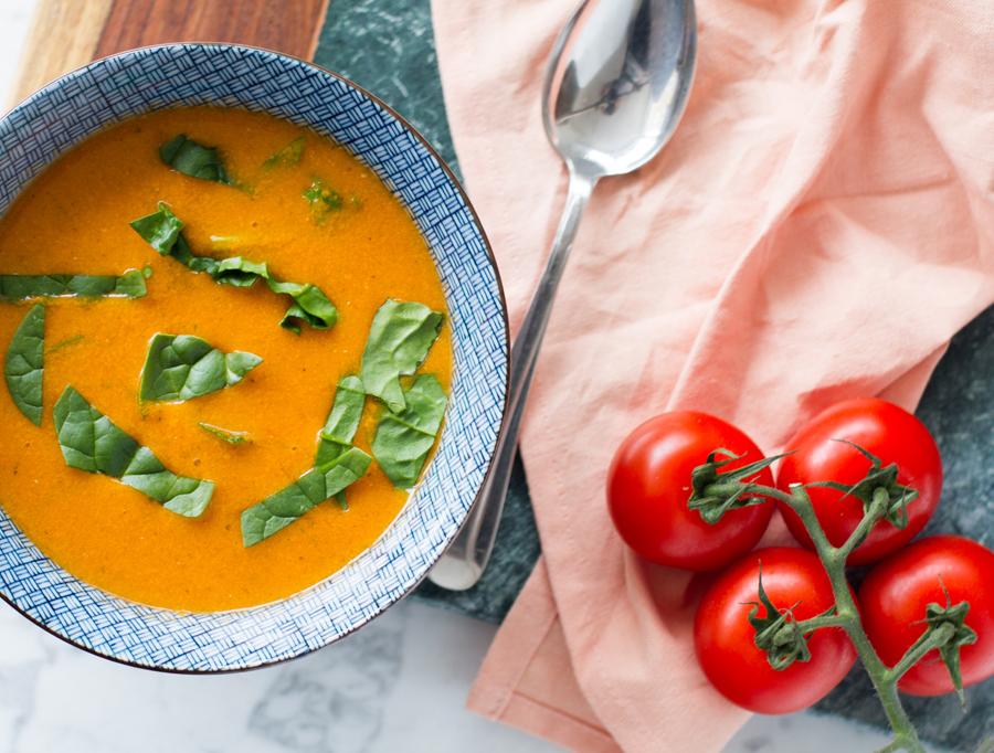 eetdagboek - tomatensoep