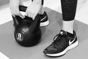 Kettlebell workout, full body training van maar 10 minuten!