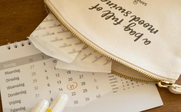 Sporten als je ongesteld bent - kalender