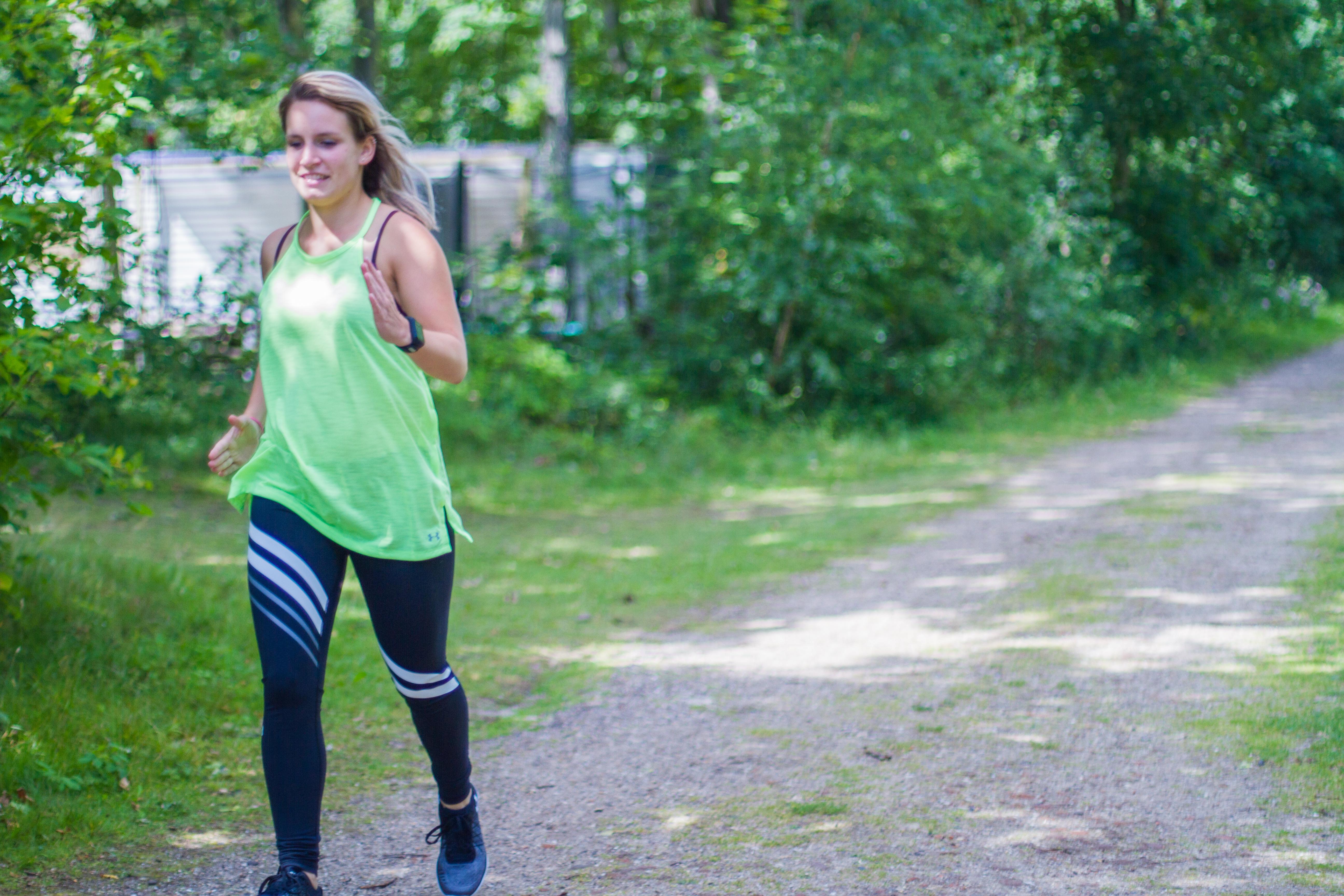 Sporten als je ongesteld bent - hardlopen
