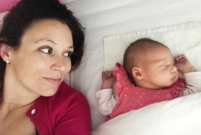 Mijn bevallingsverhaal + even voorstellen: Mini-fitgirl Lauren