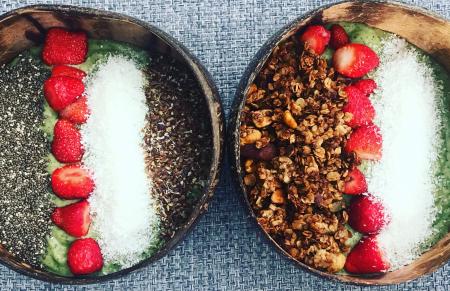 Recept voor een frisse zomerse smoothie bowl
