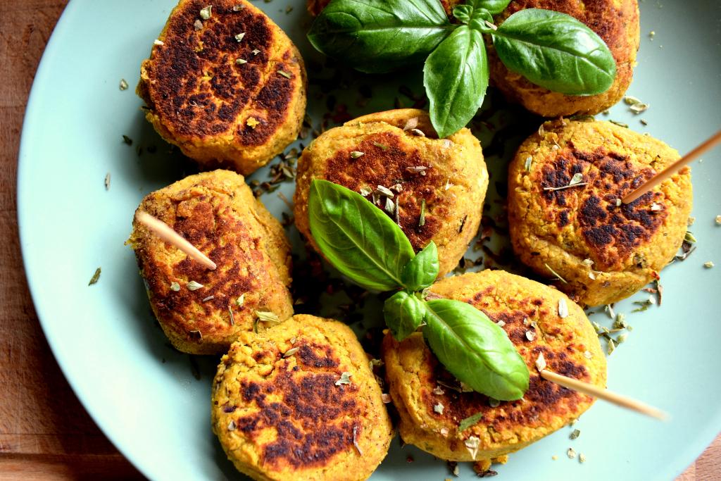 zelfgemaakte falafel
