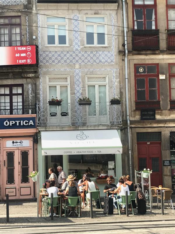 healthy hotspots Porto