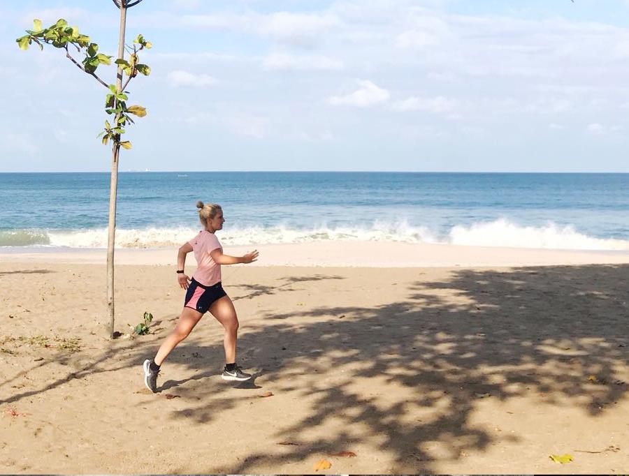 Hardlopen op Bali