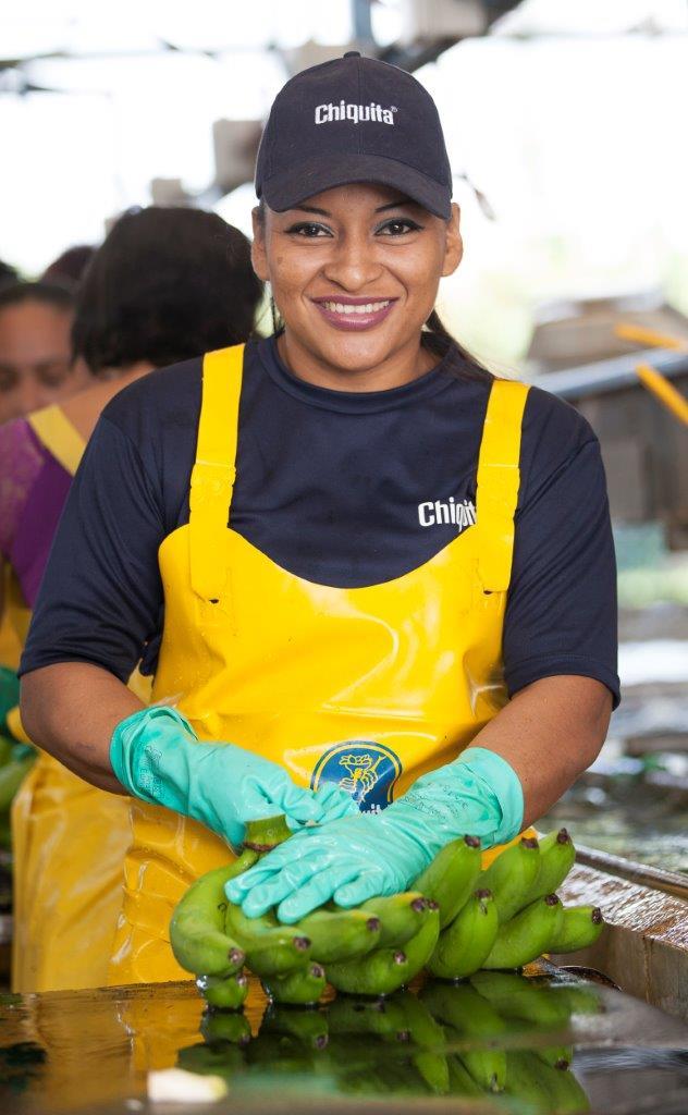Banaan - Chiquita vrouw