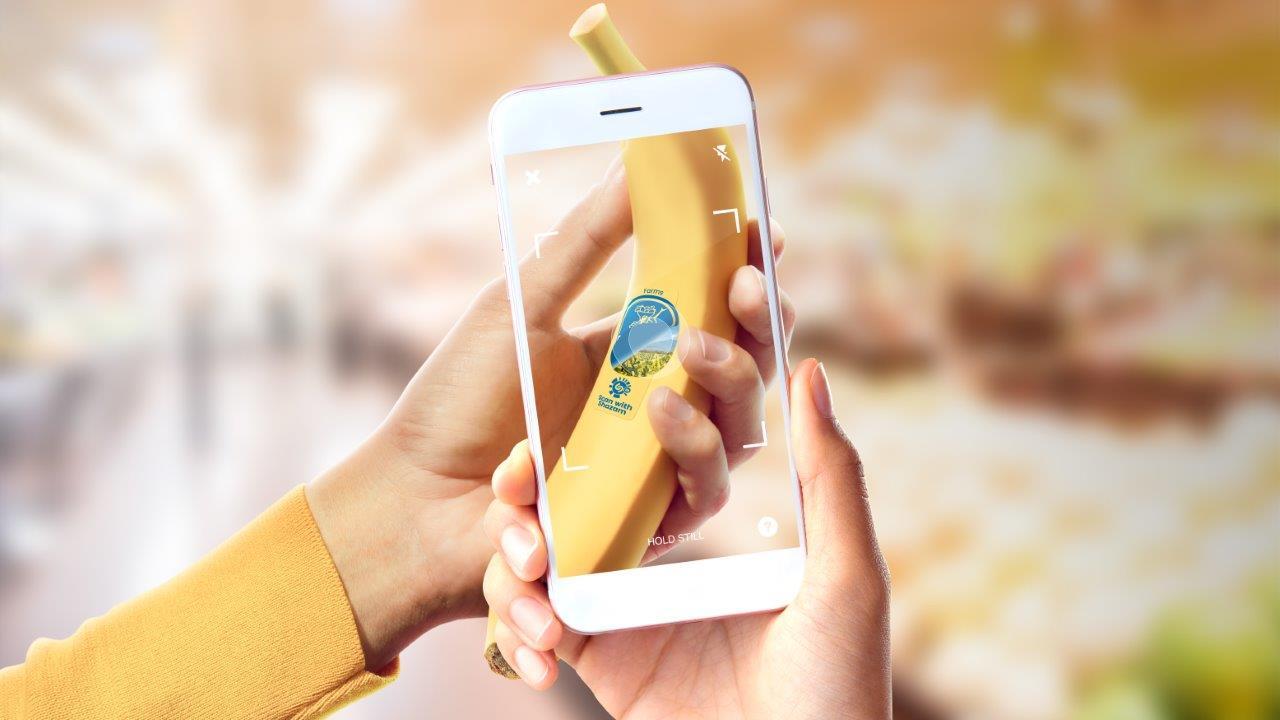 Banaan - Chiquita sticker