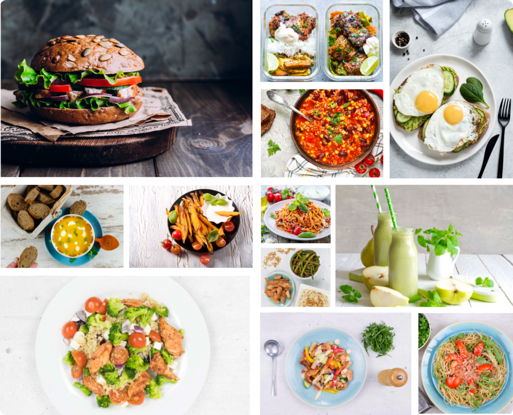 fit persoonlijk voedingsschema recepten