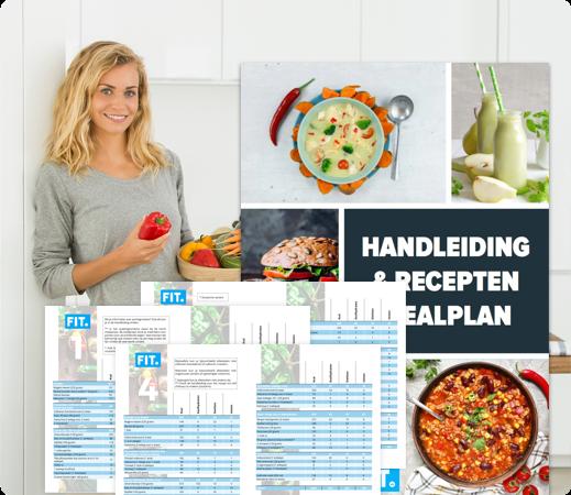 fit persoonlijk voedingsschema voeding