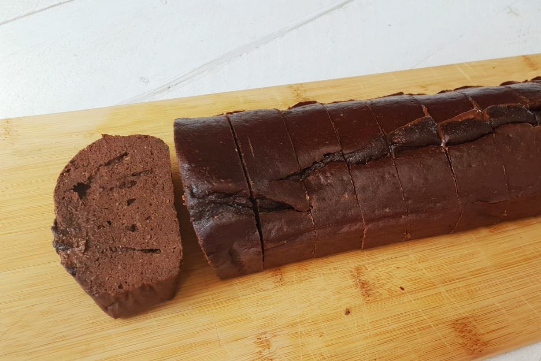 gezonde brownies met courgette