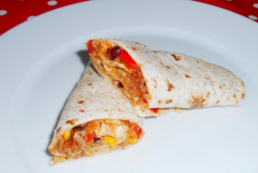 Kindproof recept: Mexicaanse gezonde warme wraps