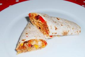 Kindproof recept: Mexicaanse gezonde warme wraps
