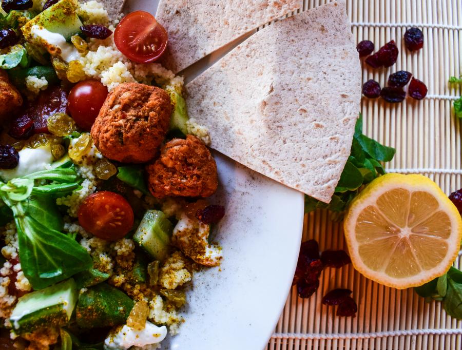 falafel salade