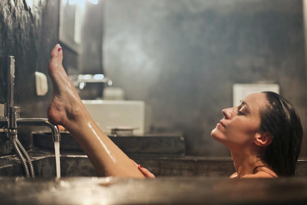 warm douchen