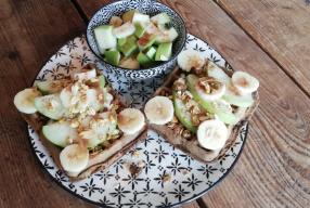 Heerlijk ontbijtrecept: Gezonde wafels met fruit