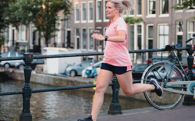 Beginnen met hardlopen - foto: David Stegenga