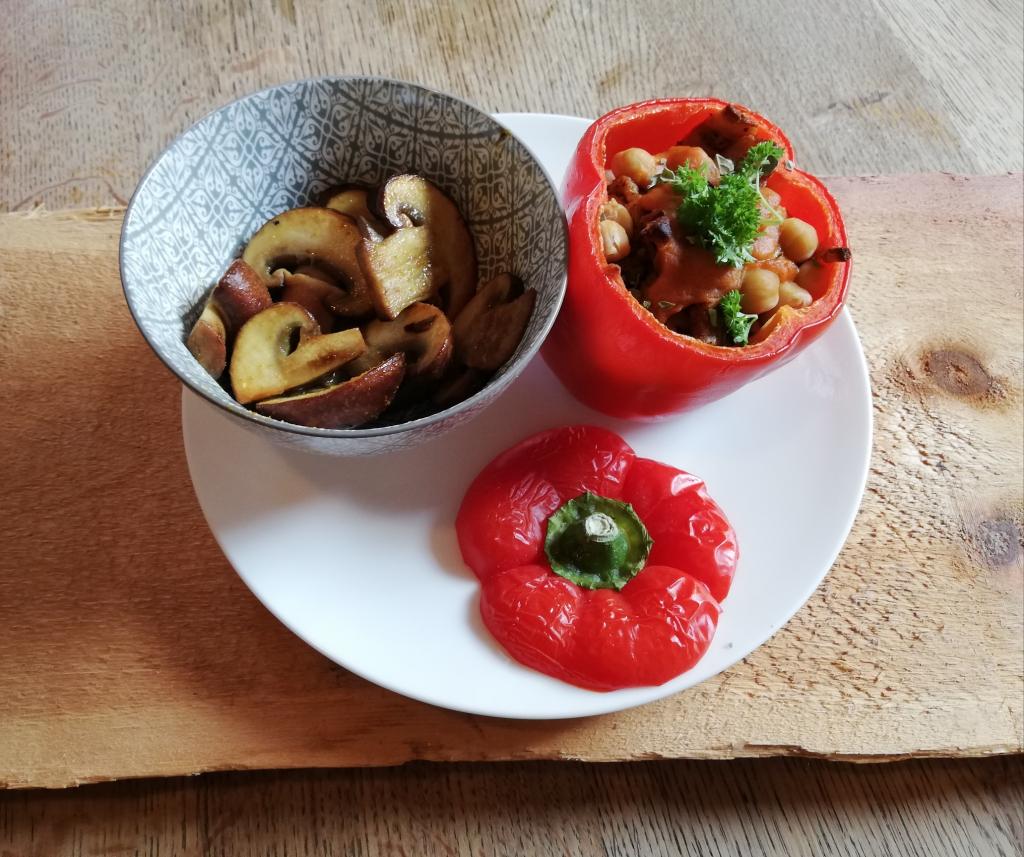 gevulde-rode-paprika