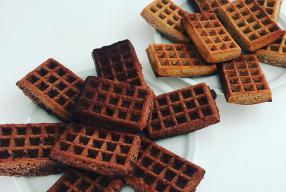 Recept: gezonde wafels met chocolade & kokos