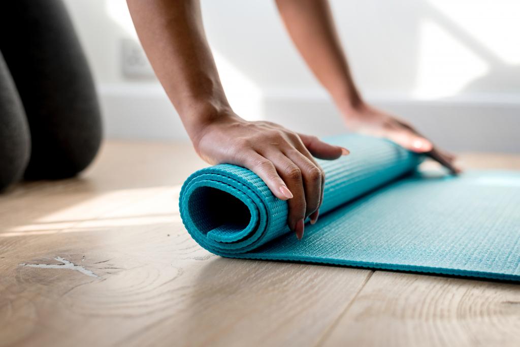 Hot yoga ervaring - matje