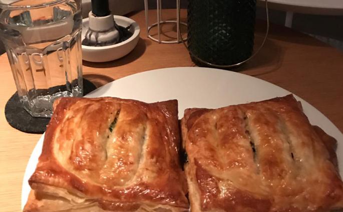 recept met zalm en spinazie