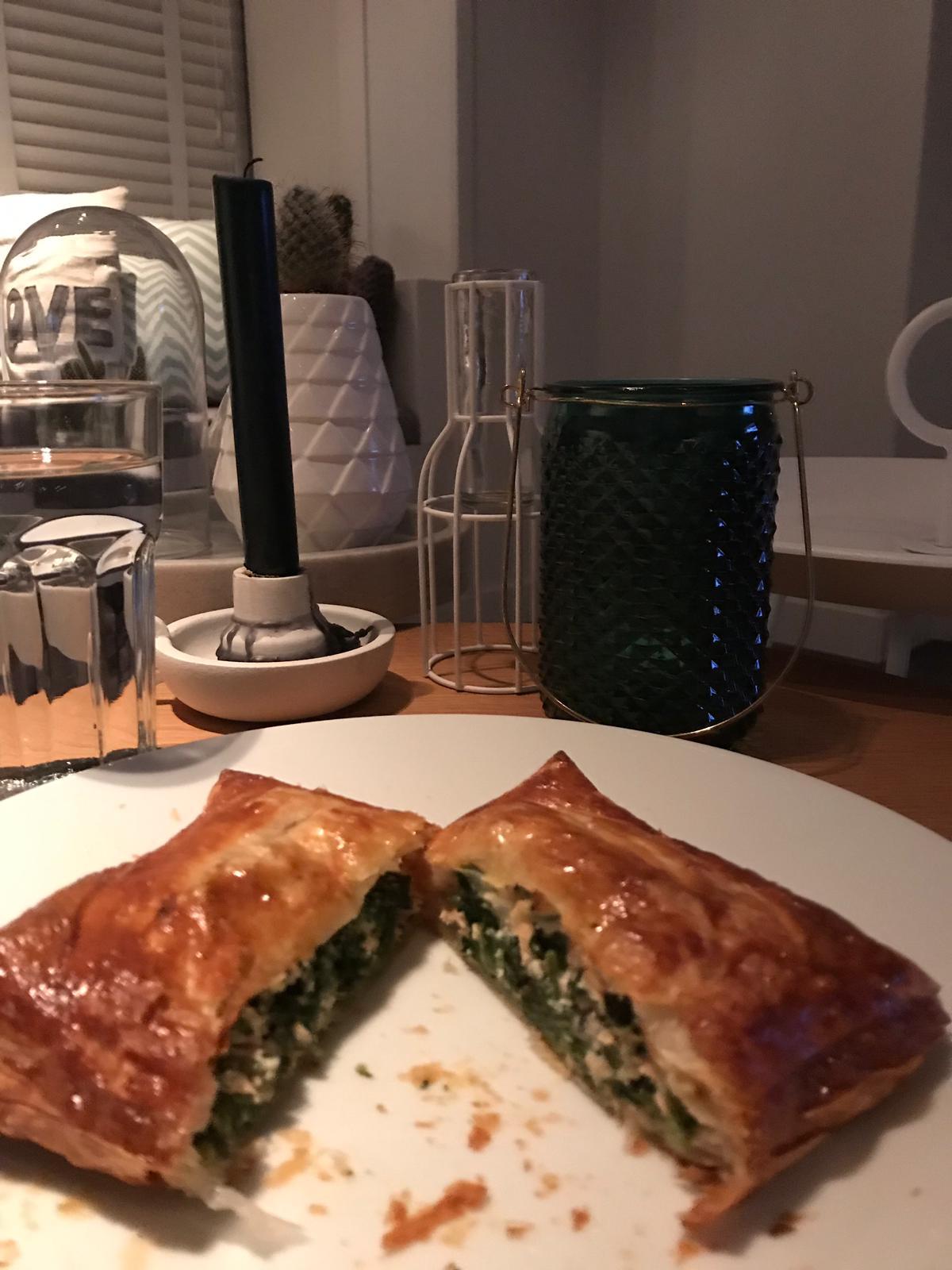recept zalm met spinazie ingredienten
