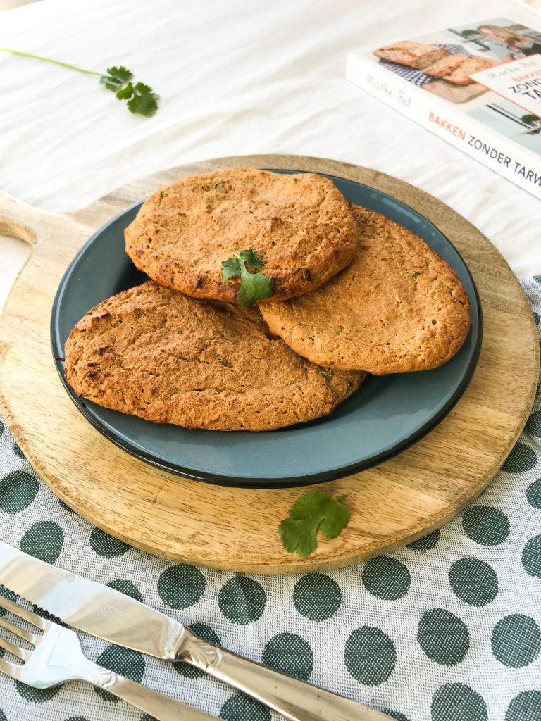recept glutenvrij naanbrood