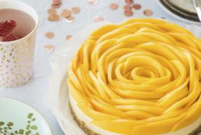 Recept: healthy mangotaart