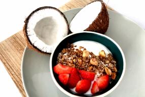 Korting op de nieuwe smaken granola van Eezzie